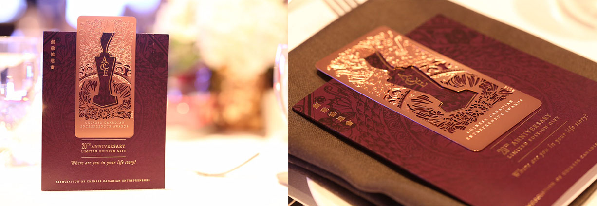 ACCE Rose Gold Bookmark